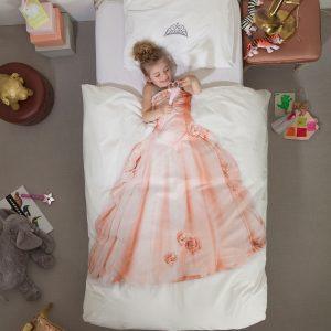 Snurk Funda Nórdica Cama 90 Princesa Rosa 140 x 200 y Funda de Almohada 60 x 70 comprar online