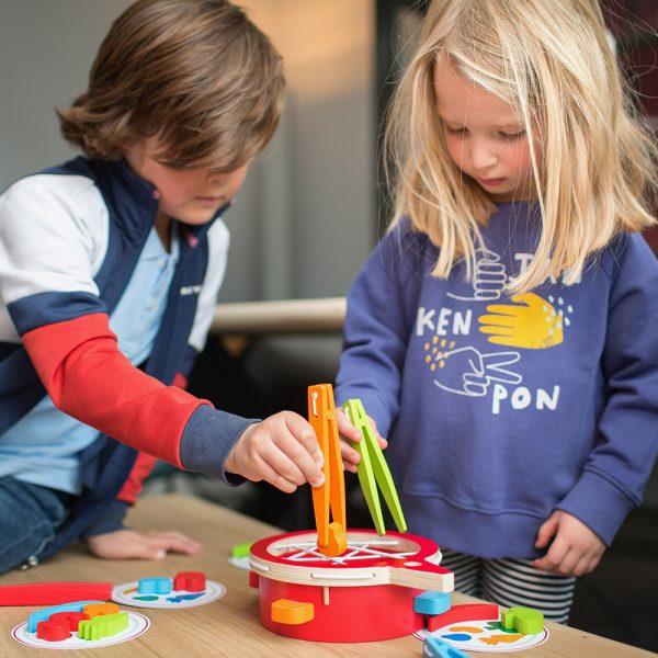 BS Toys - Verduras en el plato – El juguete de cocinitas