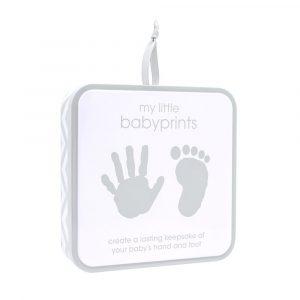 Babyprints - Lata cuadrada para guardar la huella de tu beb