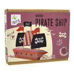 Barco pirata de madera para niños – Crafts by Andreu Toys